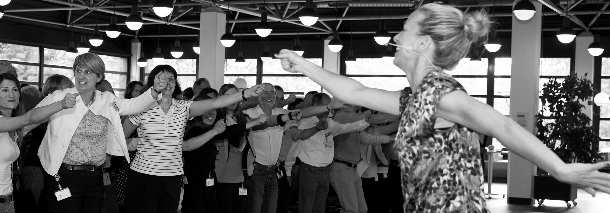 Heidrun Link ist eine Expertin für Gehirnfitness-Training </br>Ein Erlebnis und perfektes Infotainment