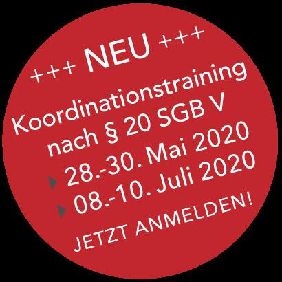 Koordinationstraining nach §20 SGB V